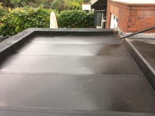 Gosforth Resitrix Edpm Rubber Roof Project Lord Roofing