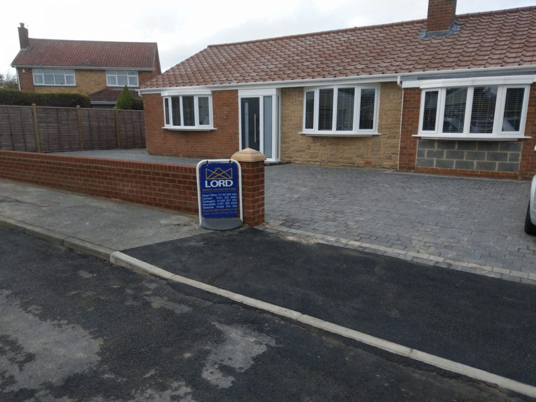 Spennymoor Block Paving Project