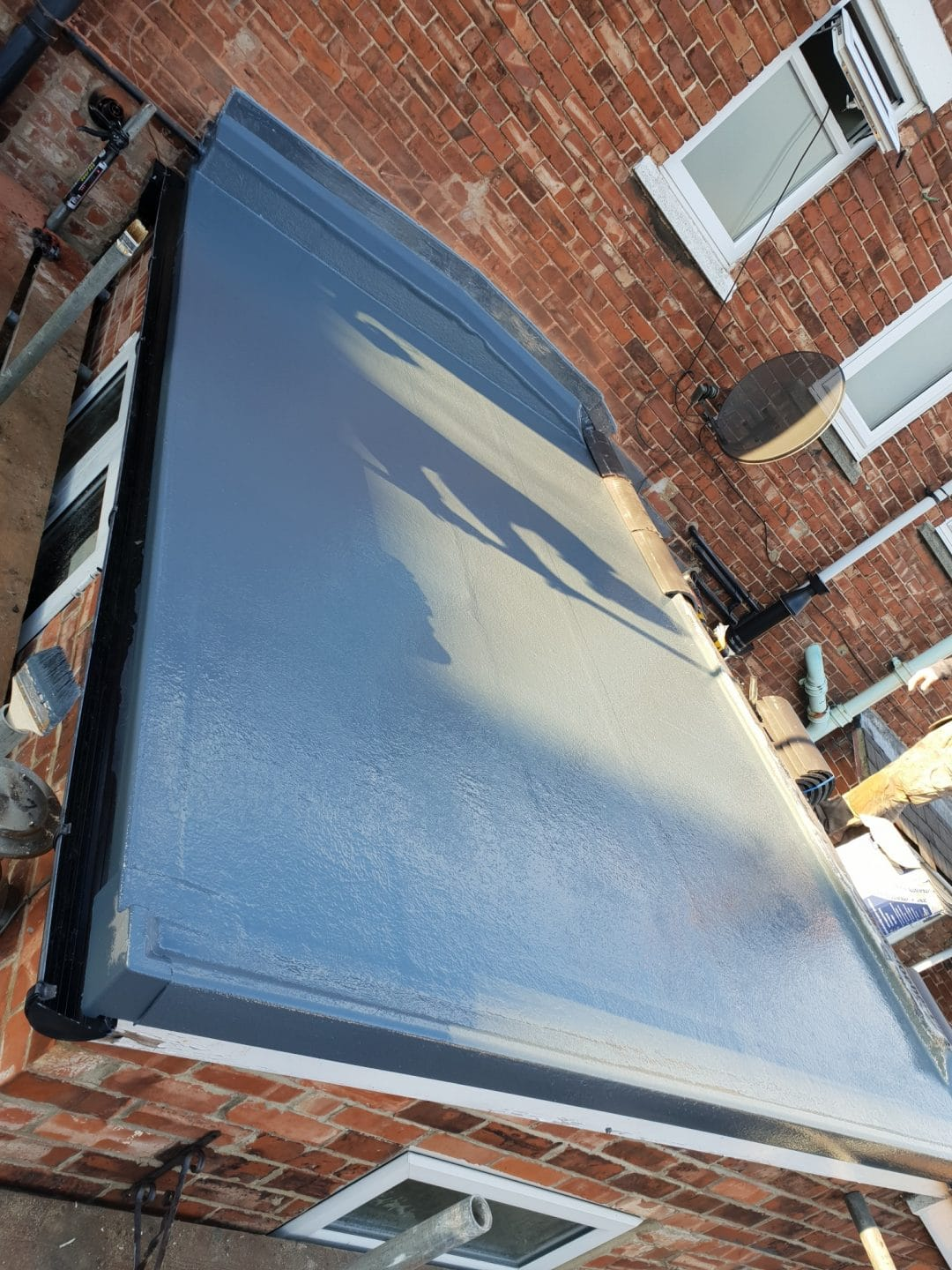 Middlesbrough Grp Fibreglass Pitched Roof Project Lord