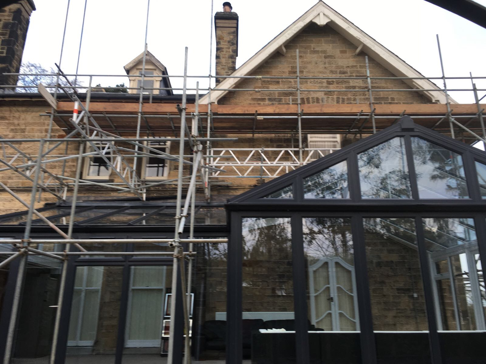 Grade 1 Spanish Slate Re Roof Velux Window Installation