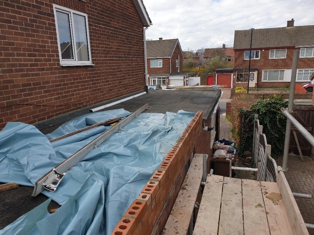 Sunderland Firestone Epdm Rubber Raised Roof Renovation