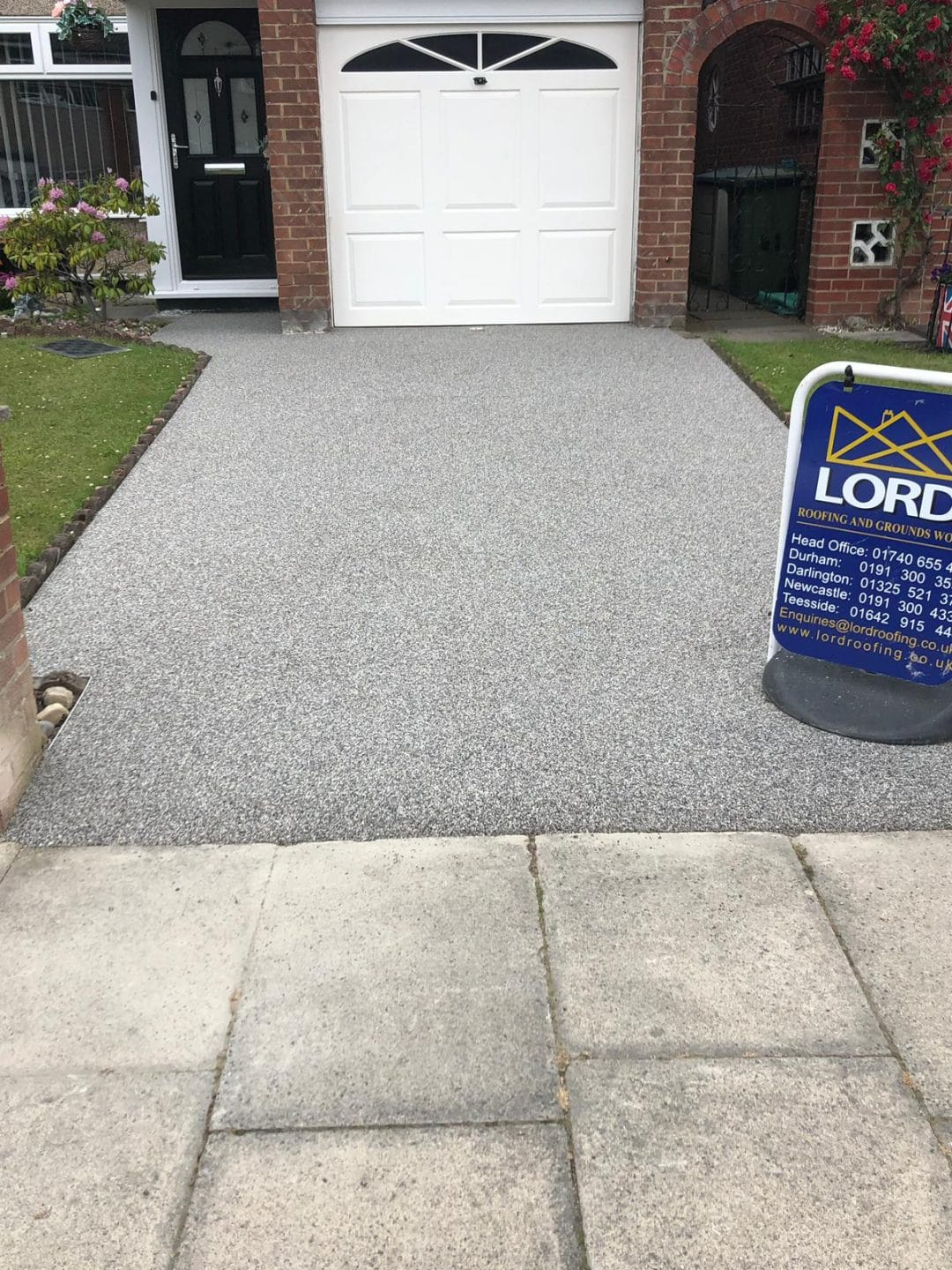 Thornaby Titanium Resin Bound Driveway Lord Roofing