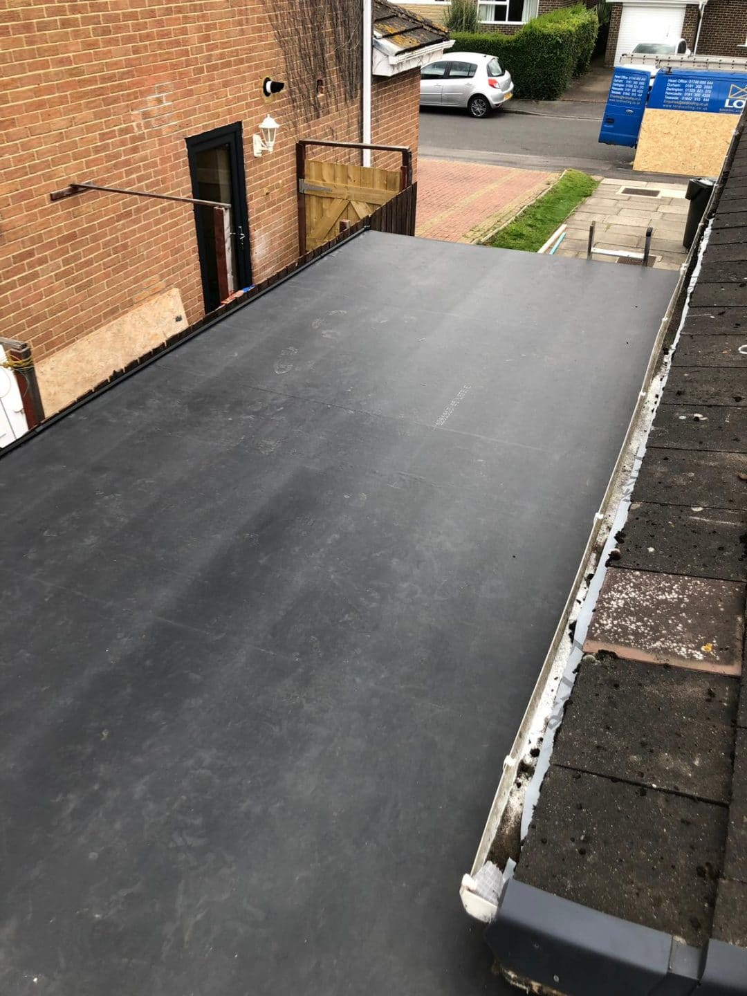 Nunthorpe Firestone Epdm Garage Flat Roof Project Lord