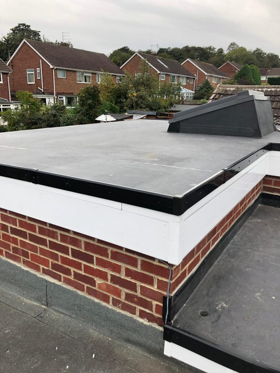 Chester Le Street Double Epdm Rubber Roof Project Lord